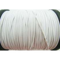 2mm Round Elastic- Off White #470