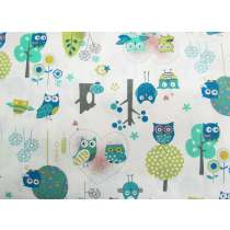 Owl Friends Cotton #PW1041