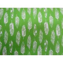 Feather Cotton- Green #PW1031