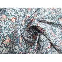 Spring Butterfly Silk Dupion #4554