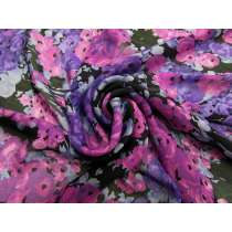 Violet Dreams Silk Chiffon #4557