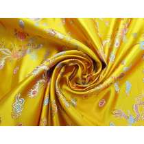 Golden Dragon Satin Brocade #4587