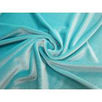 2 Way Stretch Velvet- Island Aqua # 2584