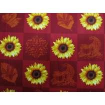Harvest Sunflowers Cotton #PW1053
