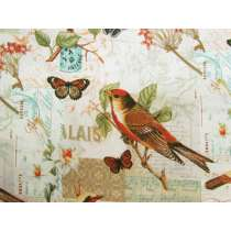 Bird Song Cotton #PW1052