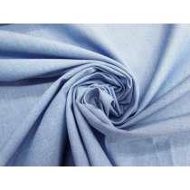 Cotton Chambray- Breezy Blue #4603