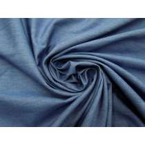Smooth Cotton Chambray- Comfort Blue #4609