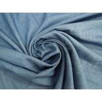 Cotton Chambray- Beachy Blue #4615