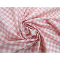 Gingham Check Cotton- Sweet Pink #4621