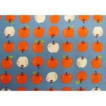 Ruby Star Society Cotton- Smol- Them Apples- Denim Blue #16-15