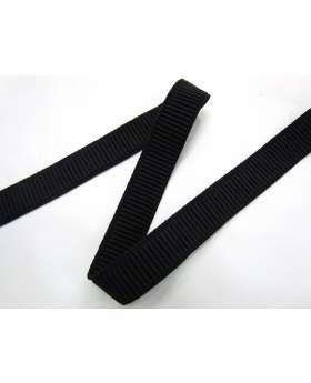 20mm Ribbed Elastic- Black