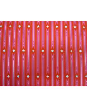 Alison Glass- Holiday- Ribbon in Peppermint
