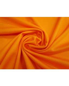 Cotton Sports Plus Micro Eyelet Knit- Orange Burst #2044