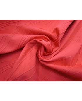 Ripple Jacquard Spandex- Bright Red #4349