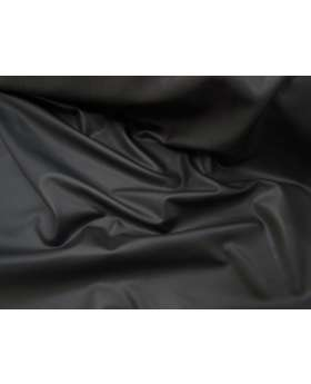 Leather Look PVC Spandex- Black