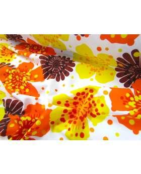Havaiana Floral Lycra- Yellow/Orange
