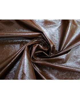 Crinkle Look PVC Vinyl- Chocolate Syrup #4108