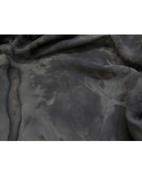 Tie Dye Chiffon- Black