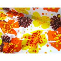 Havaiana Floral Lycra- Yellow/Orange