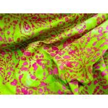 Rainbow Serpent Batiks- Apple Green