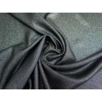 Drapey Lurex Woven- Silver Night #3148
