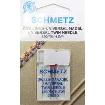 Schmetz Universal Twin Needle 2,5/80