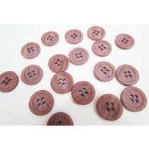 18mm Mauve Pink Fashion Button FB187