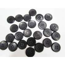 20mm Black Fashion Button FB188