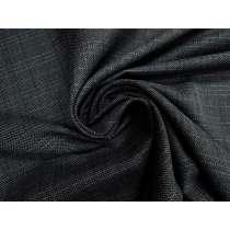 Monash Check Suiting- Night Grey #3616