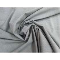 Cotton Blend Shirting- Bleary Grey #3743