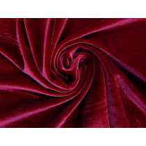 2-Way Stretch Velvet- Crimson #3761