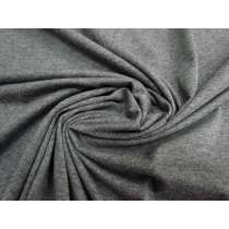 Comb Cotton Jersey- Charcoal Grey Marle #1712