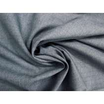 Lightweight Wool Blend Woven- Grey Blue #3930