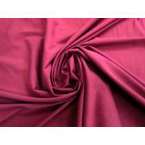 Smooth Cotton Blend Stretch Woven- Deep Red #3944