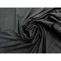 Wide Width Soft Viscose Jersey- Dark Grey #3988