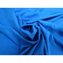 Silk Crepe De Chine- Electric Blue #4073