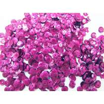 24gm Sequin Pack- Holographic Magenta- 6mm #023