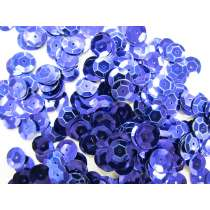 24gm Sequin Pack- Dark Blue- 10mm #030