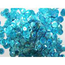 24gm Sequin Pack- Holographic Aqua- 12mm #033