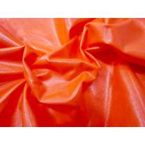 Wet Look Spandex- Fluro Orange