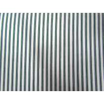 Tram Stripe Cotton- Moss