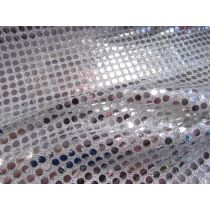 6mm American Sequins- Silver/White