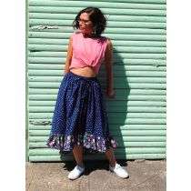 Boho Skirt Downloadable Pattern- Sizes 6-20