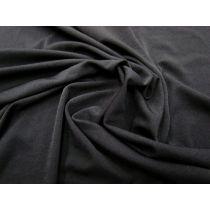 Super Soft & Drapey Stretch Lining- Black #946
