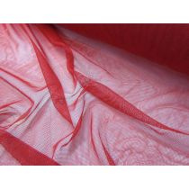 Soft Stretch Tulle- Deep Red