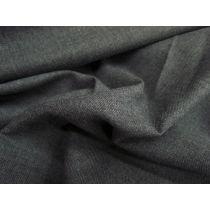 Australian Made Wool Blend Twill- School Grey