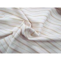 70's Sand Stripe Cotton Bengaline
