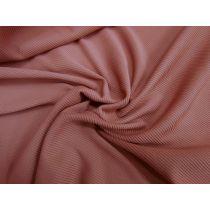 Tight Rib Knit- Red Sand #969