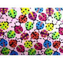Colourful Lady Bugs- Pink