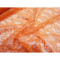 Apricot Dreams Stretch Lace